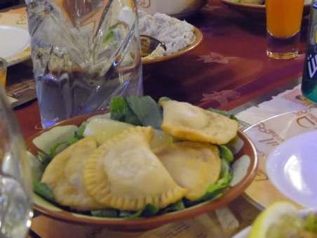 Cheese sambousek