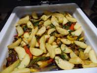 vegetable saltado