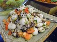 Marinated baby cuttlefish