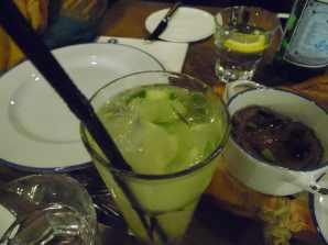 Ginger lemongrass cucumber benedict